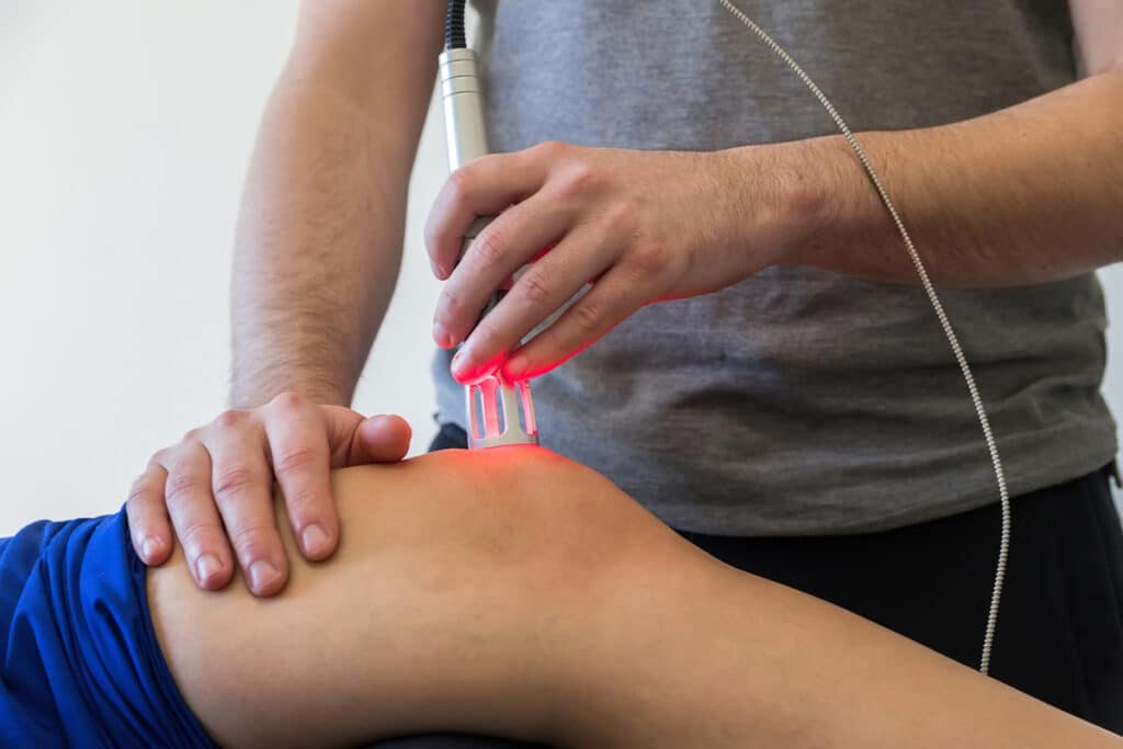 Cold Laser Therapy to treat pain